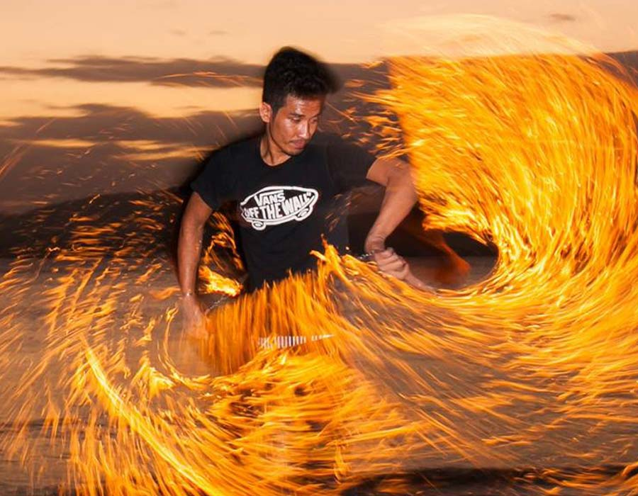 fire show phuket